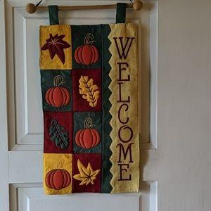 Autumn WELCOME Sign Decor